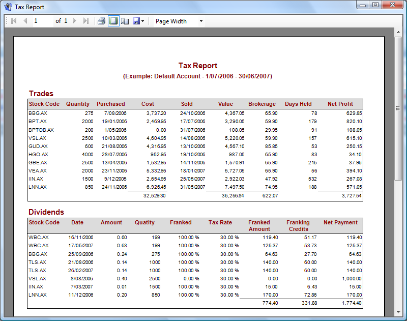 Report losses on tax for binary options